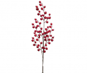 Berry Branch, Artificial Red Berry Stem